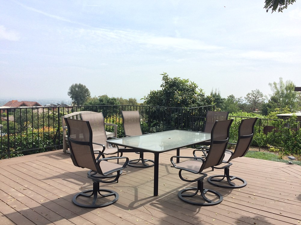 Outdoor Furniture Refinishing Los Angeles Santa Monica