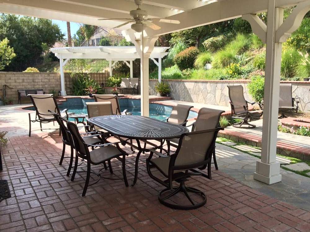 Patio furniture refinishing outdoor furniture refinishing for Outdoor furniture los angeles
