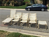 Outdoor Furniture Refinishing